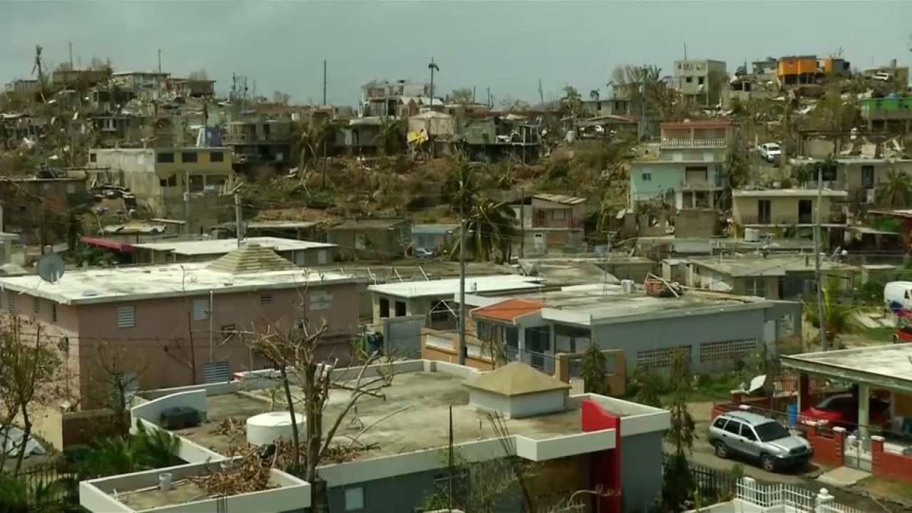 Challenges Face Those Sent To Help In Puerto Rico