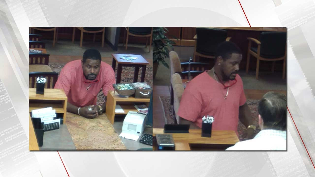 Man Accused Of Trying To Cash Stolen Check At Broken Arrow Bank