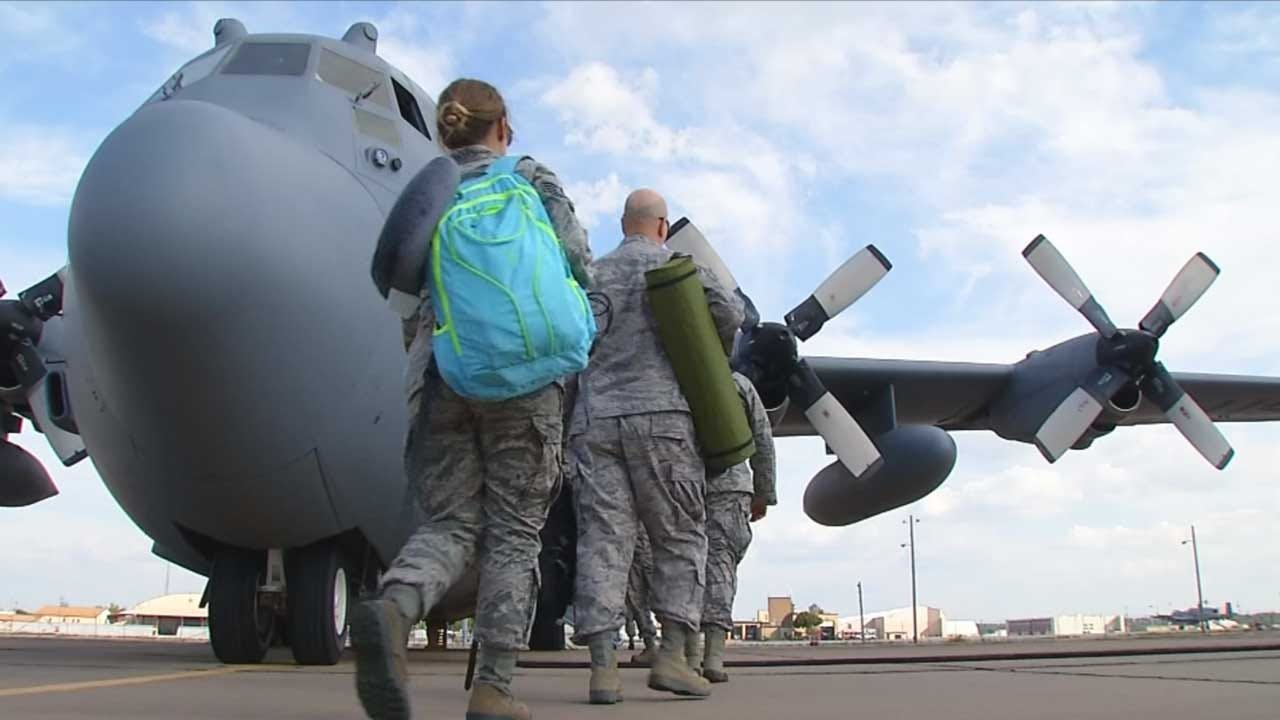 OK National Guard Deploying More Soldiers, Airmen To TX for Harvey Relief