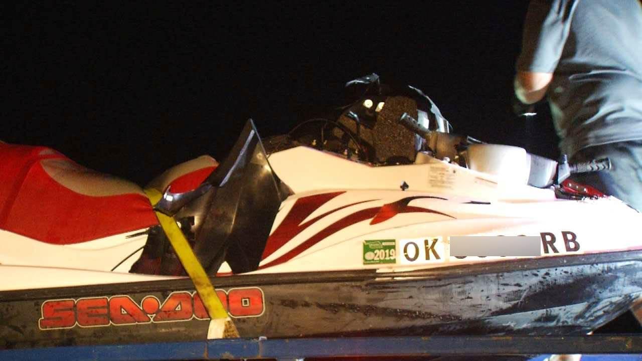 Sand Springs Couple Killed In Keystone Lake Sea Doo Crash, OHP Says