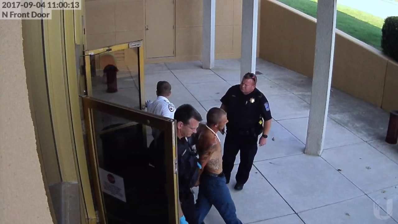 Two Men Caught Breaking Into Tulsa Church School