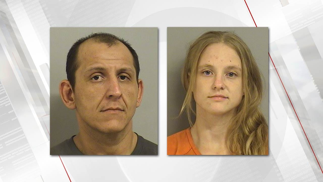 Couple Arrested For Dragging Puppy Down Tulsa Highway