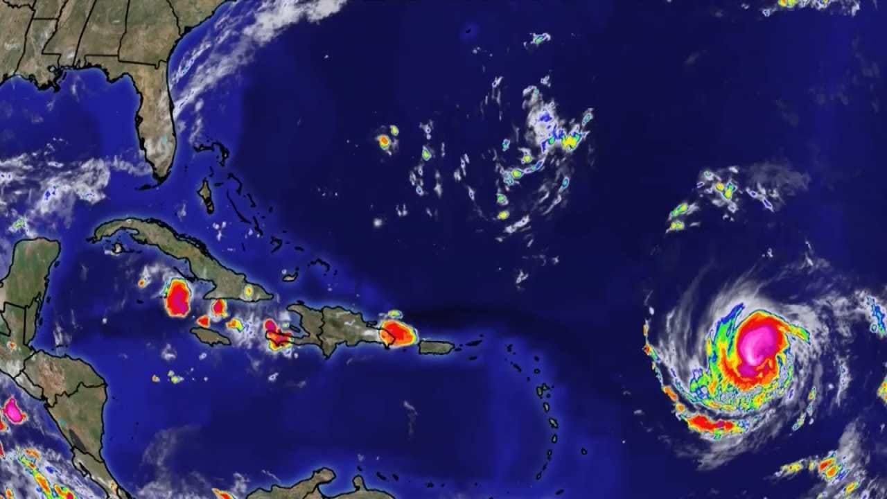 Hurricane Irma Strengthens To Category 5 Storm