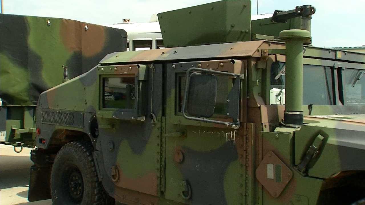 Oklahoma National Guard Postpones Sending More Soldiers To Texas