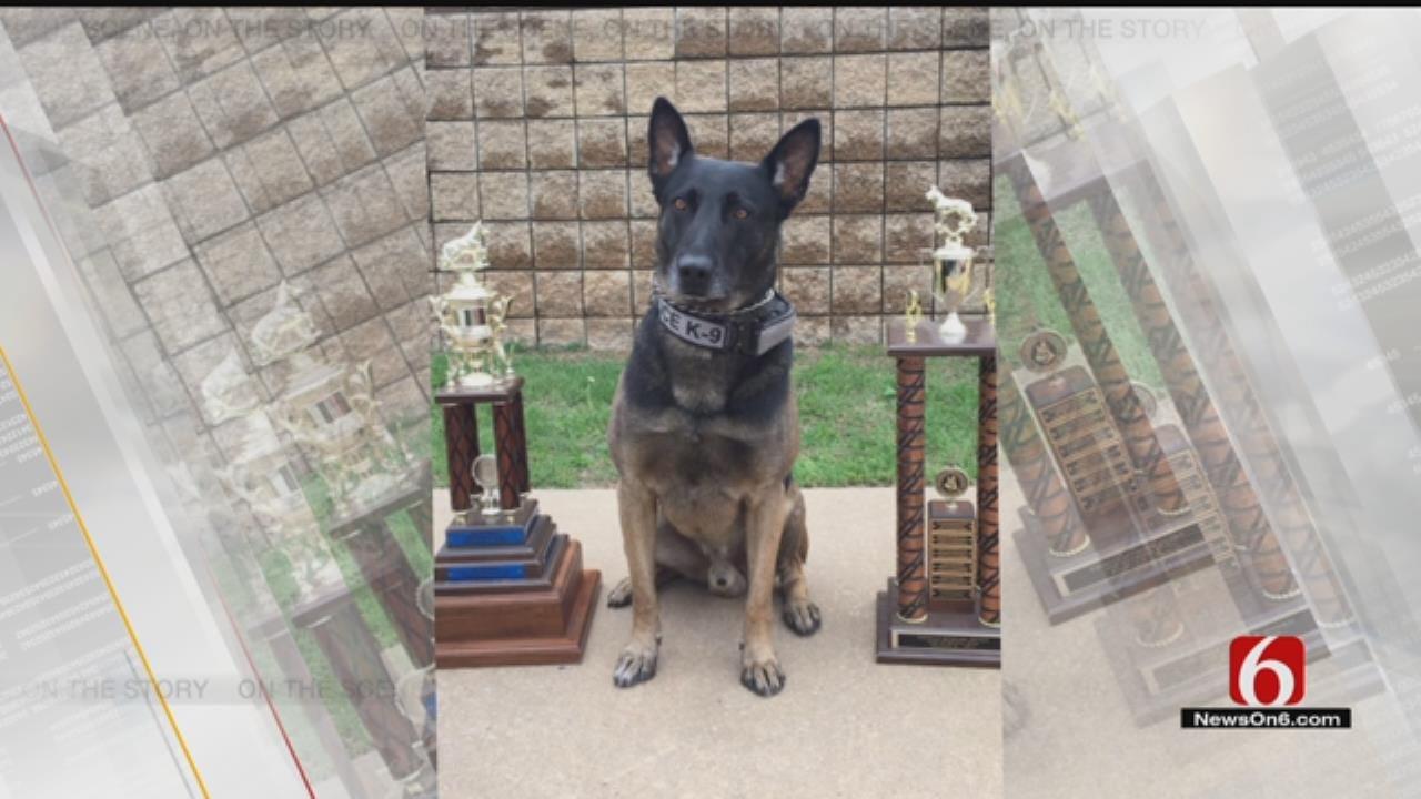 Tulsa K9 Officer Gets Added Protection