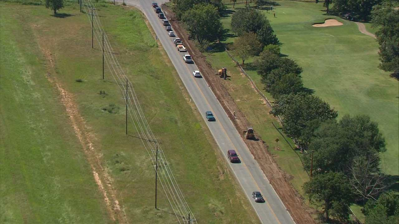 Jenks Breaks Ground On New Road Widening Project