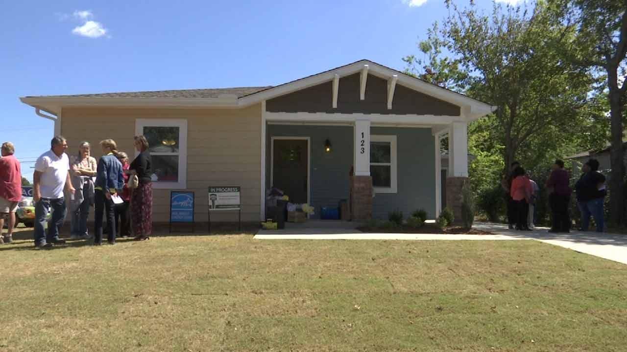 New Home A Dream Come True For Tulsa Woman, Family
