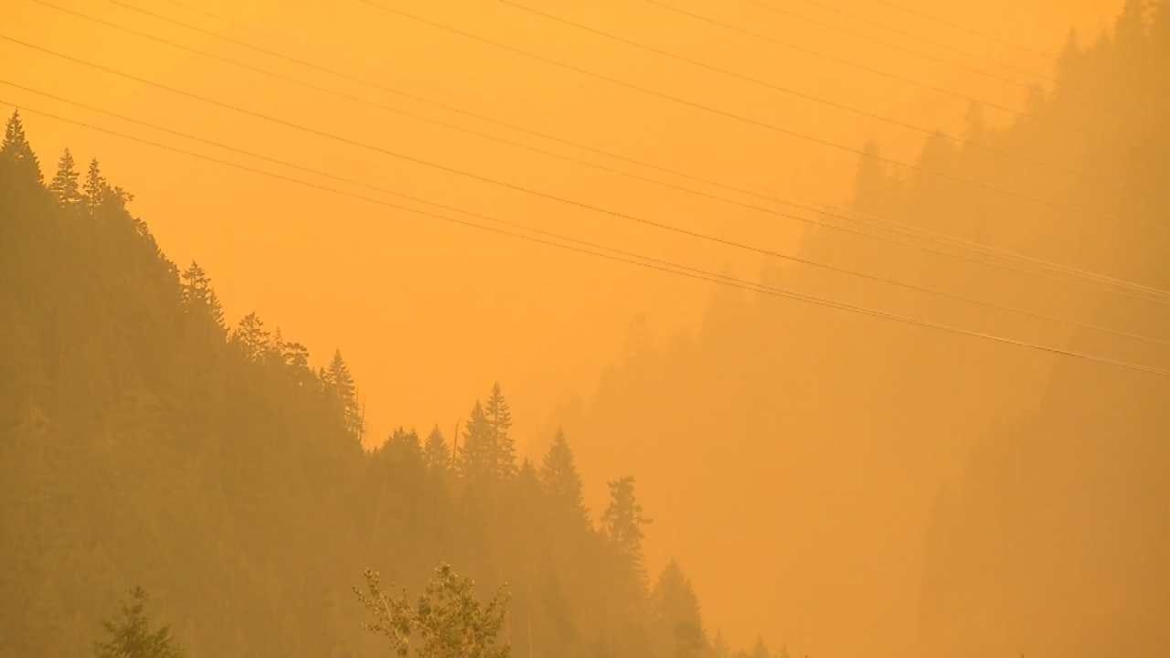 Western Wildfires Causing Health Concerns