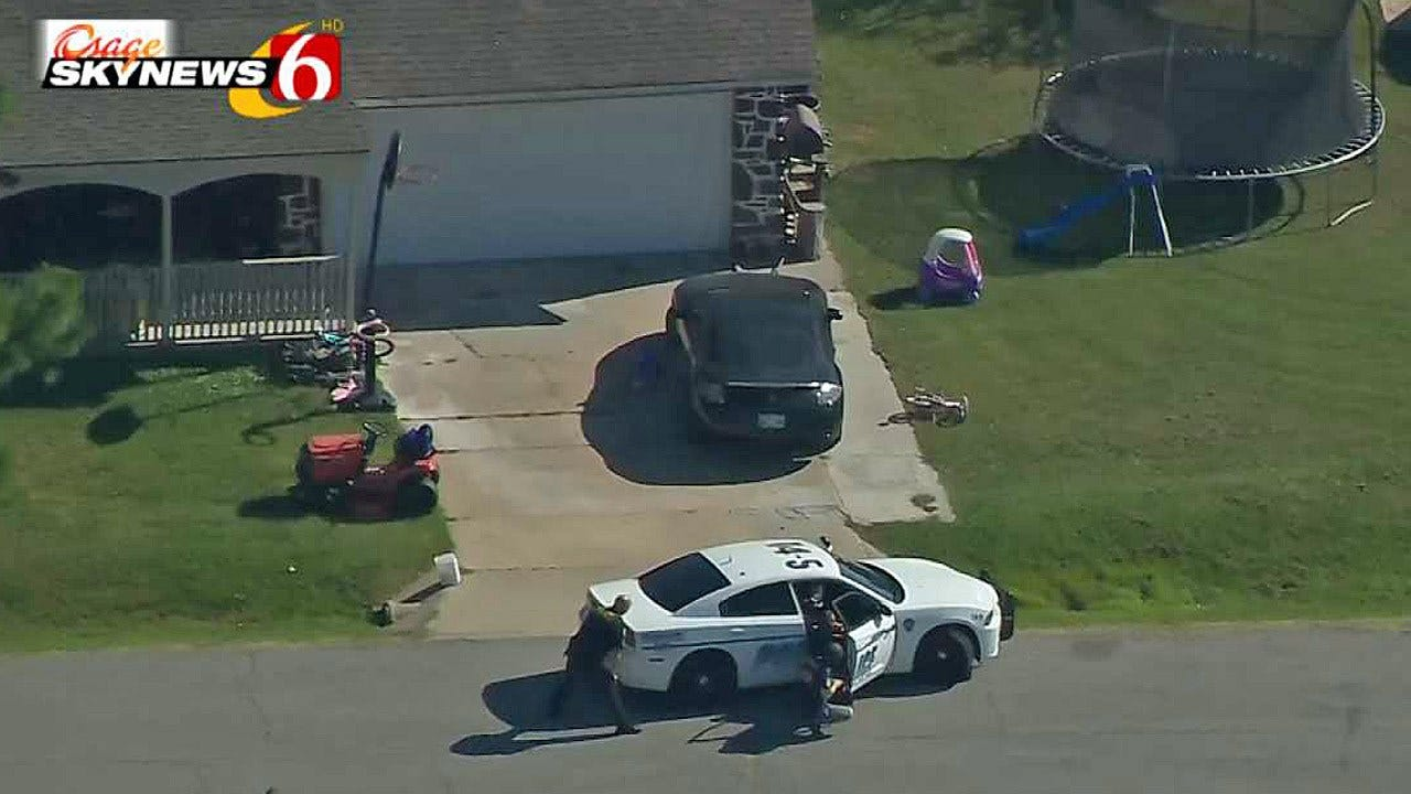 Woman Involved In Standoff With Owasso Police