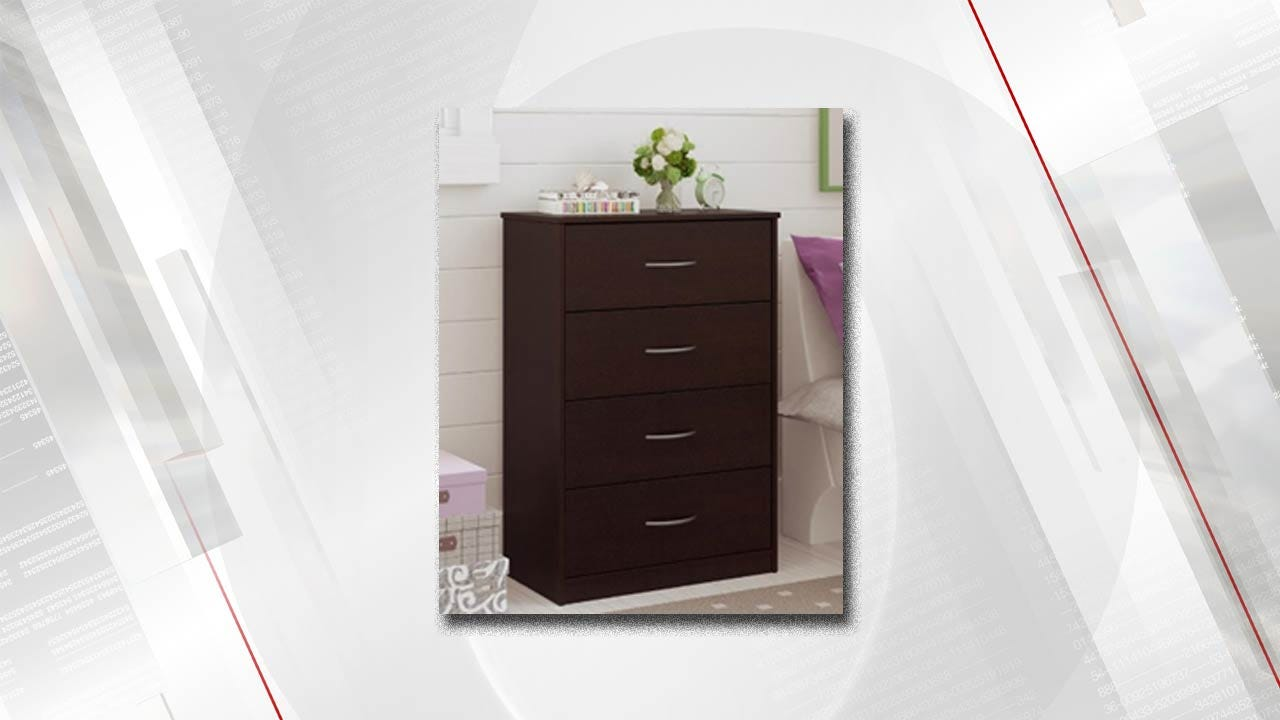 Tip-Over Risk Leads To Furniture Maker's Chest Of Drawers Recall