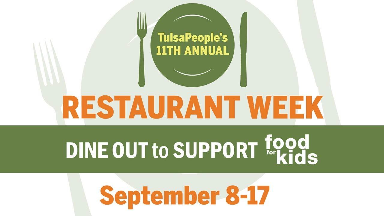 TulsaPeople's 11th Annual Restaurant Week Begins