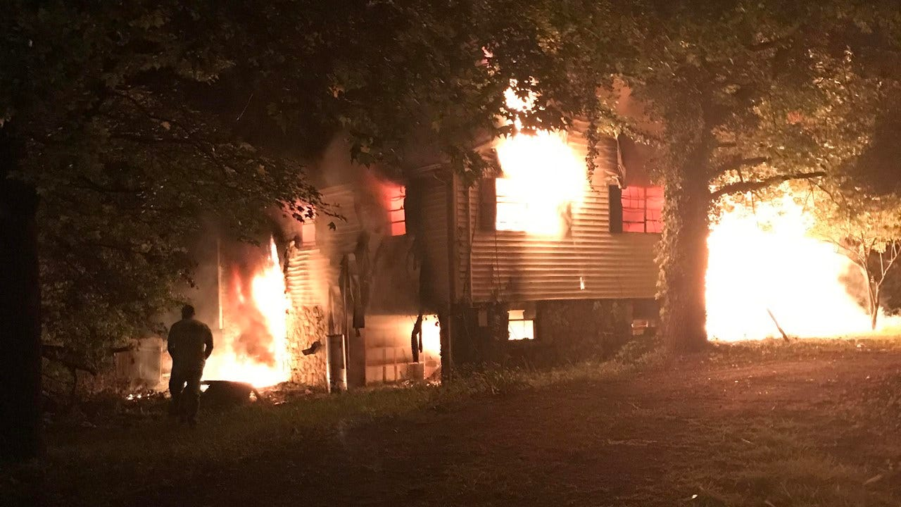 Fire Burns Home Near 71st And 129th In Tulsa