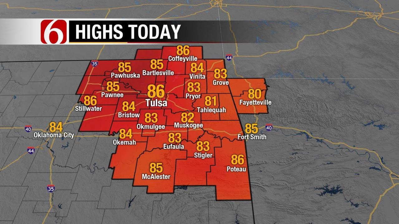 Mild Weekend Ahead For Eastern Oklahoma