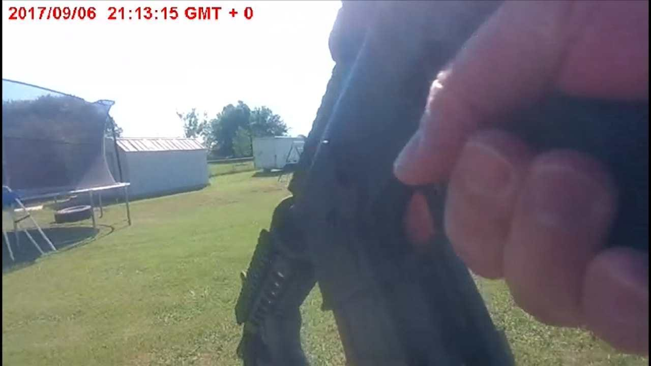 Owasso Stand Off Caught On Police Body Cam