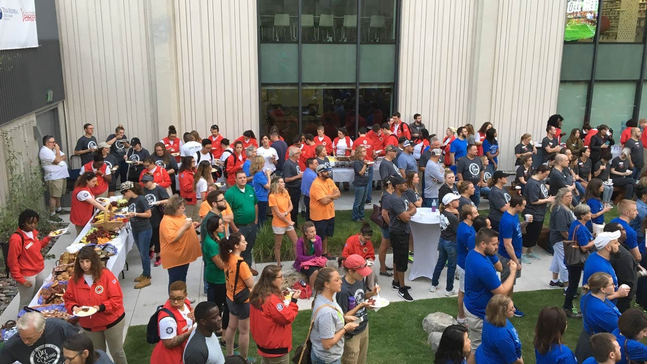 Tulsa Area United Way's Day Of Caring Taking Place Friday