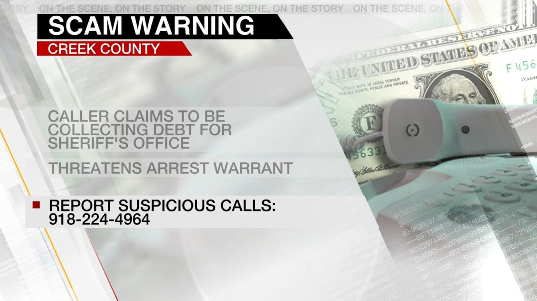 Creek County Scam Warning