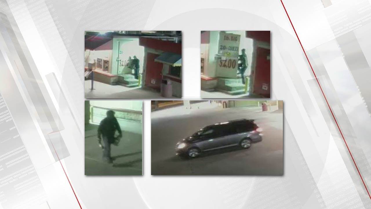Jenks Police Ask Public For Help With 'Ice House' Burglary