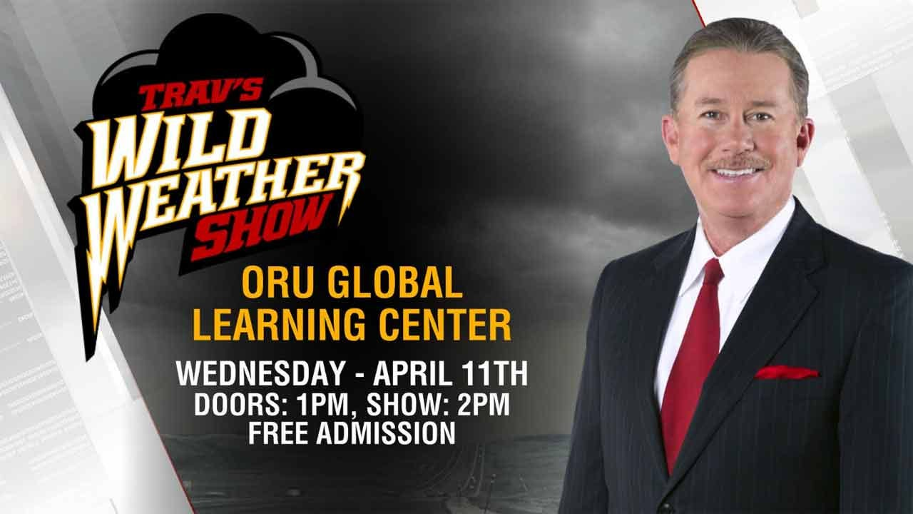 See Trav's Wild Weather Show Today At ORU