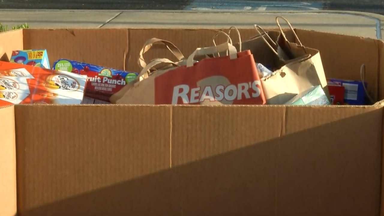 Tulsa John 3:16 Mission Seeking Donations For November Food Drive
