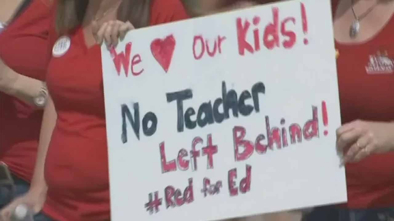 Arizona Teachers Protest For Education Funding
