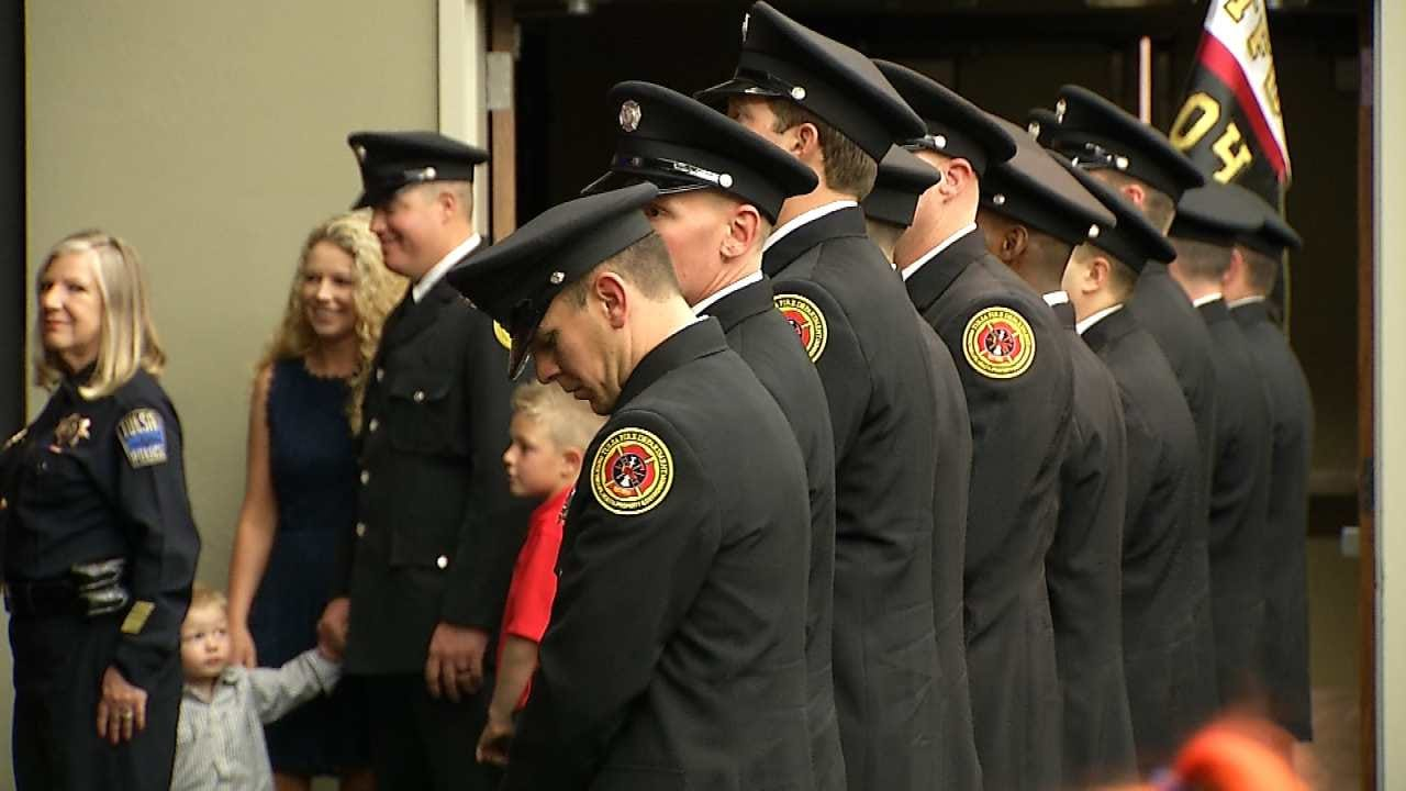 Tulsa Fire Cadets Graduate From Academy