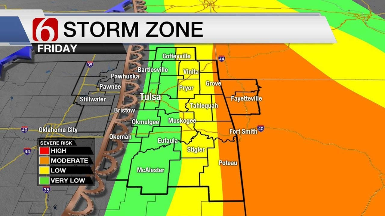 Windy And Warm Thursday For Eastern Oklahoma