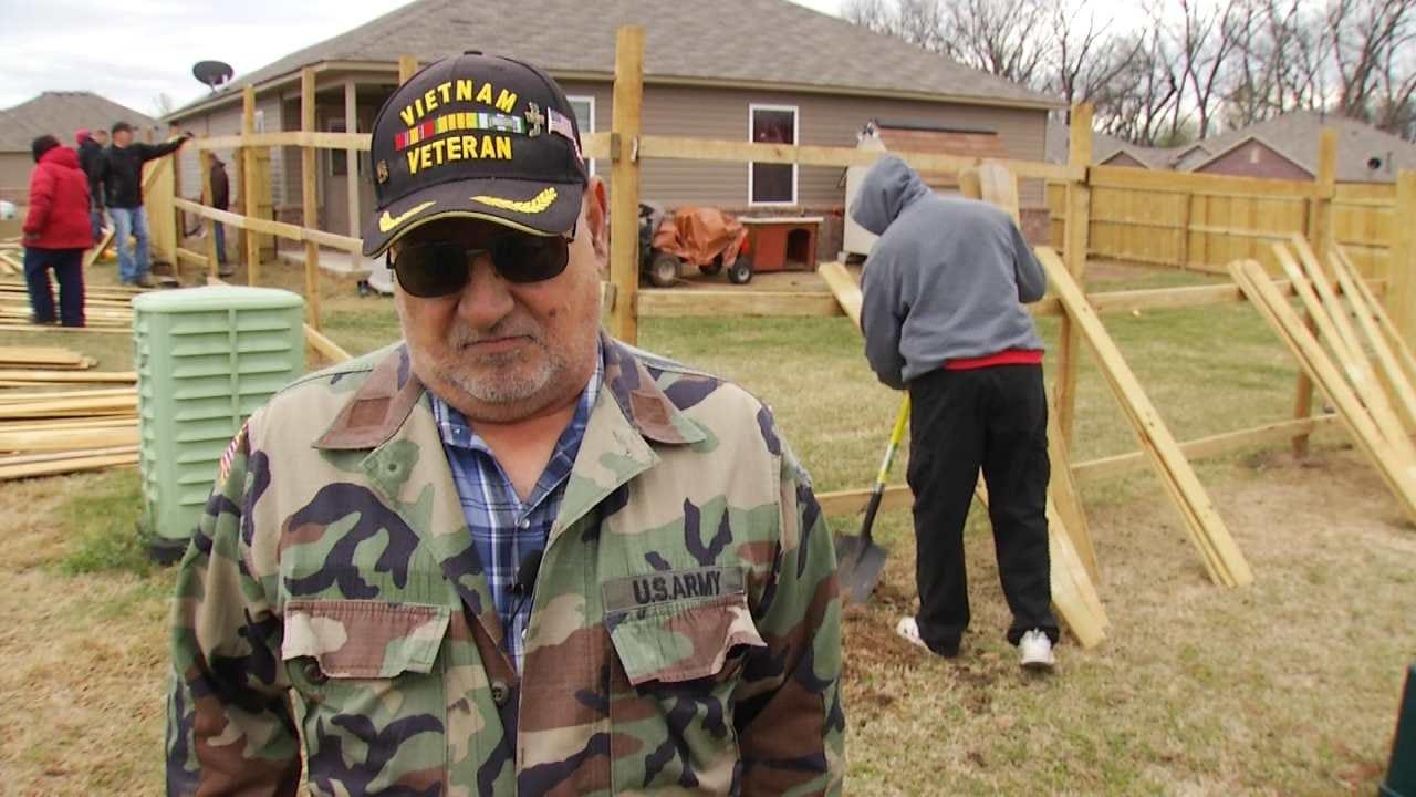 Bixby Neighborhood Rallies Around Scammed Veteran