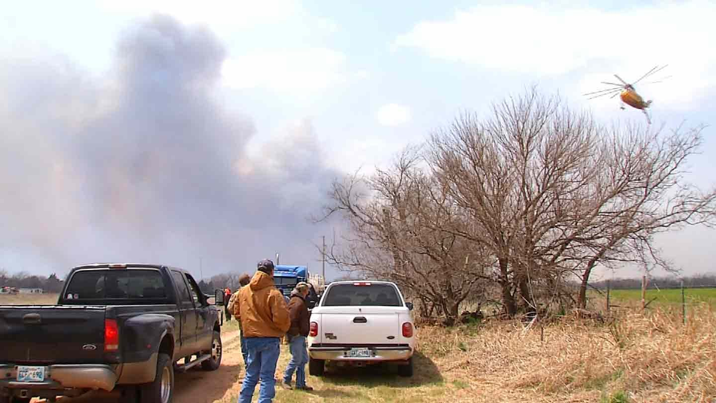 State Of Emergency Continues After Oklahoma Wildfires