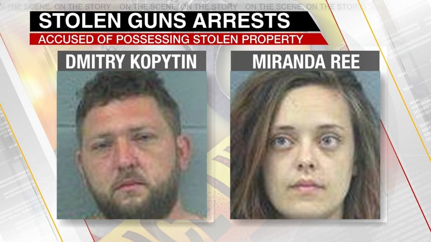 Stolen Guns Recovered After Traffic Stop In Rogers County