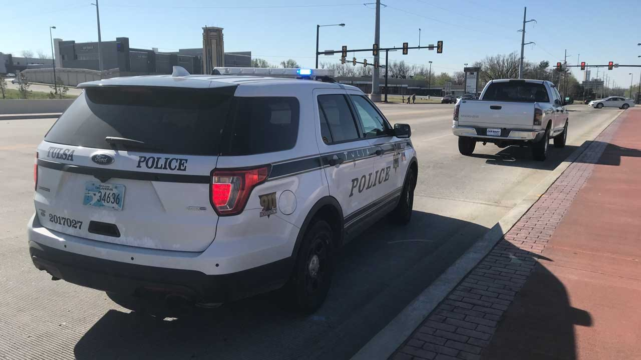 Stolen Truck Runs Out Of Gas During Tulsa Pursuit, Police Say