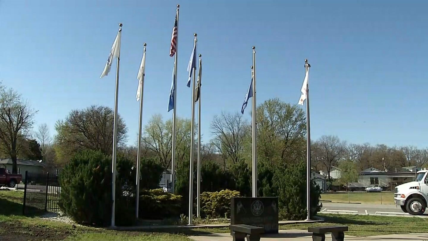 Veterans In Bernice Frustrated After Council Votes To Replace Only A Few War Memorial Flags