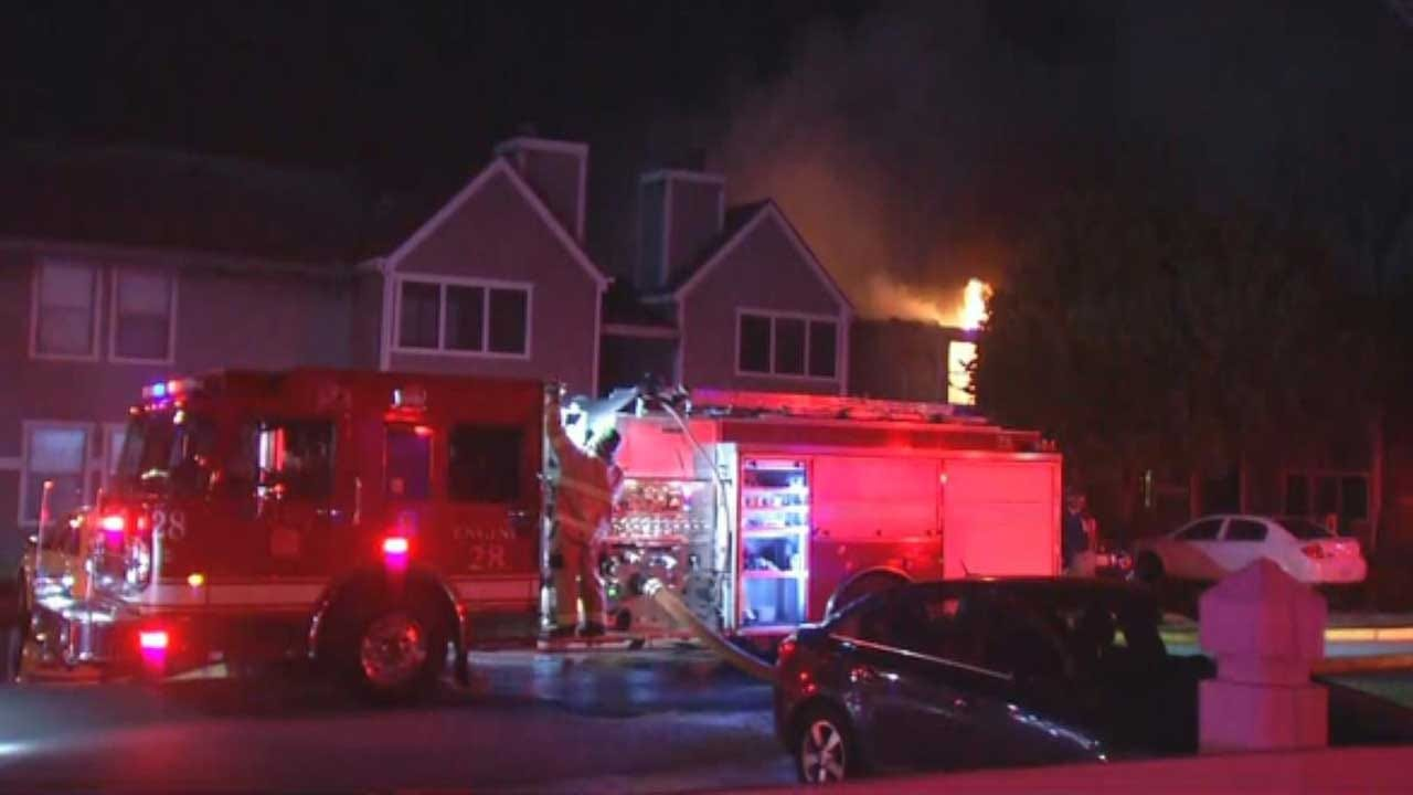 Child Playing With Lighter Sparks Tulsa Apartment Fire