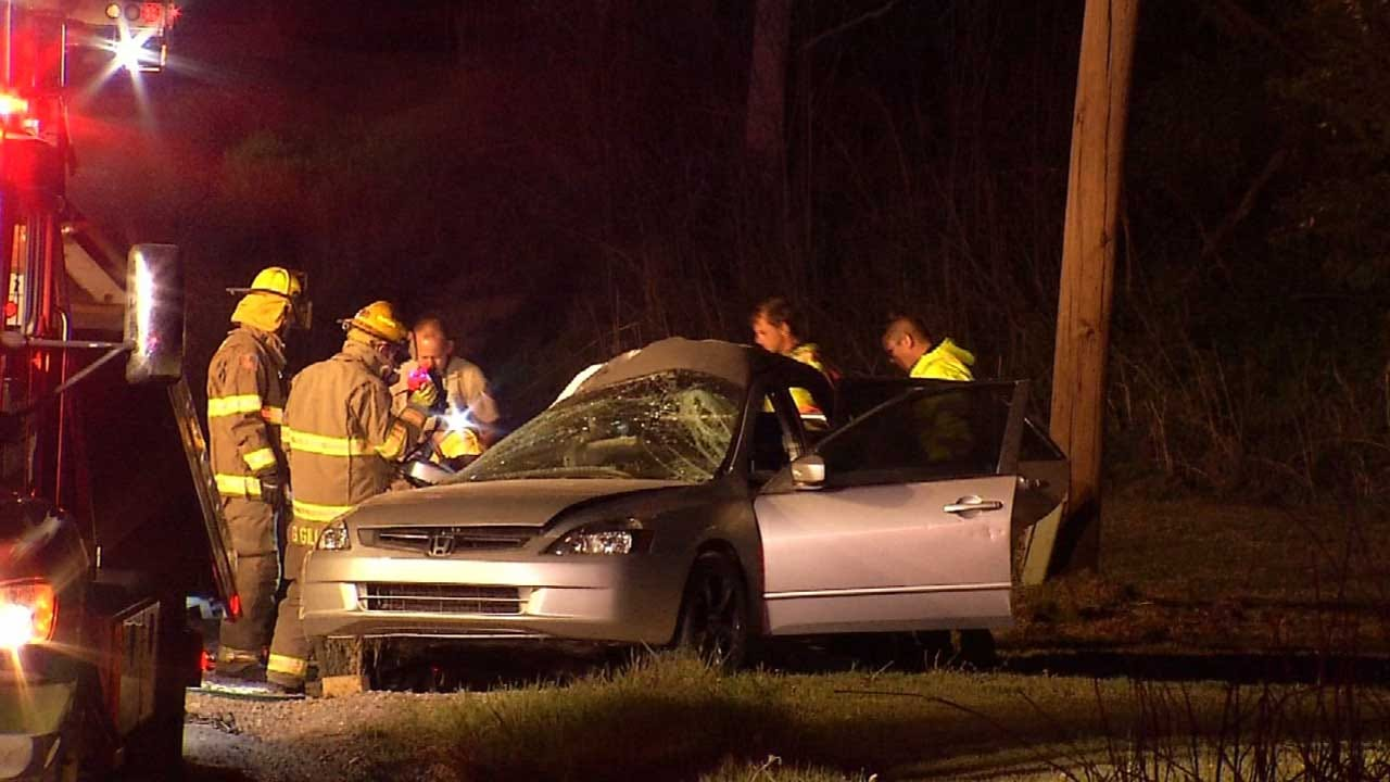 Coweta Teen Killed In Single-Vehicle Crash