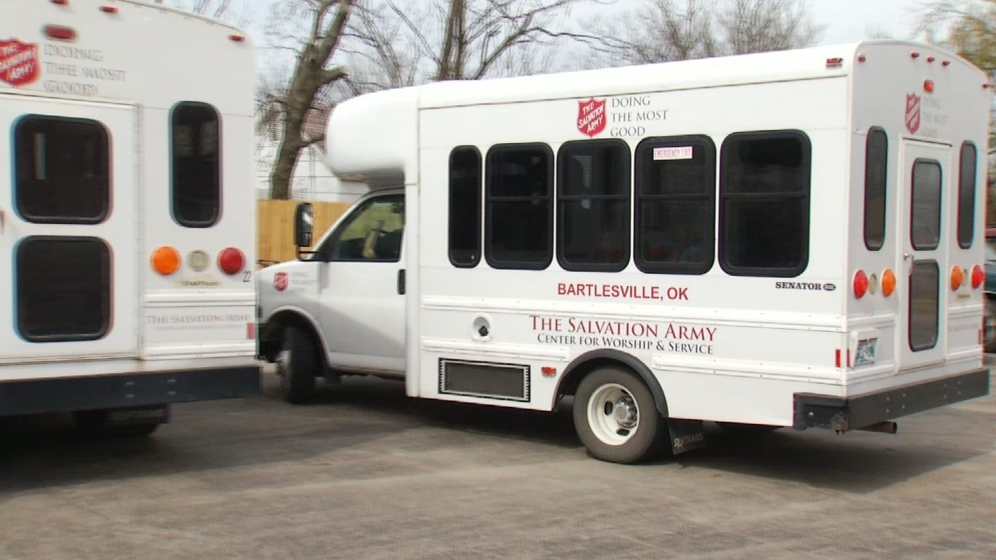 Gas Stolen From Salvation Army Buses In Bartlesville