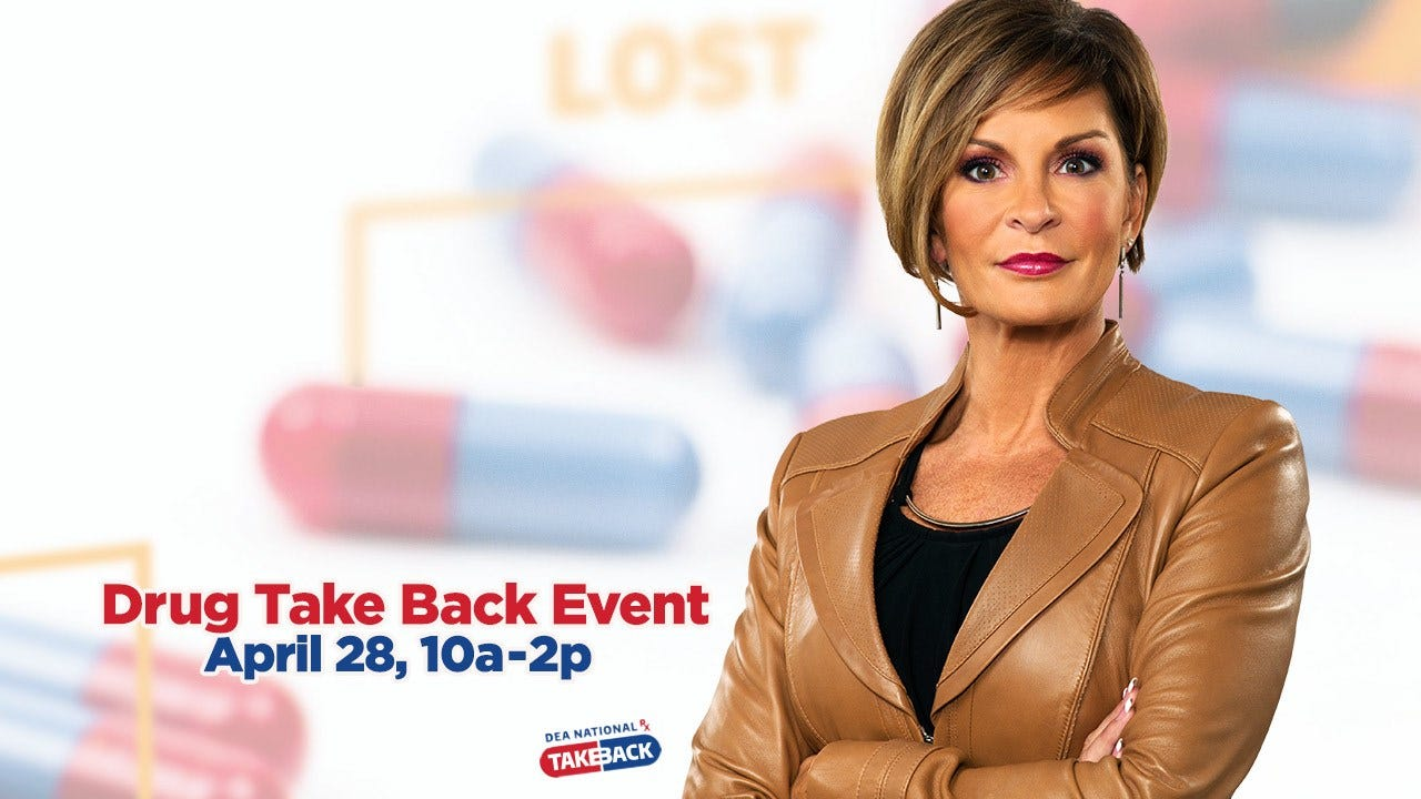 News On 6 To Host Drug Drop Off For 'National Take Back Day'