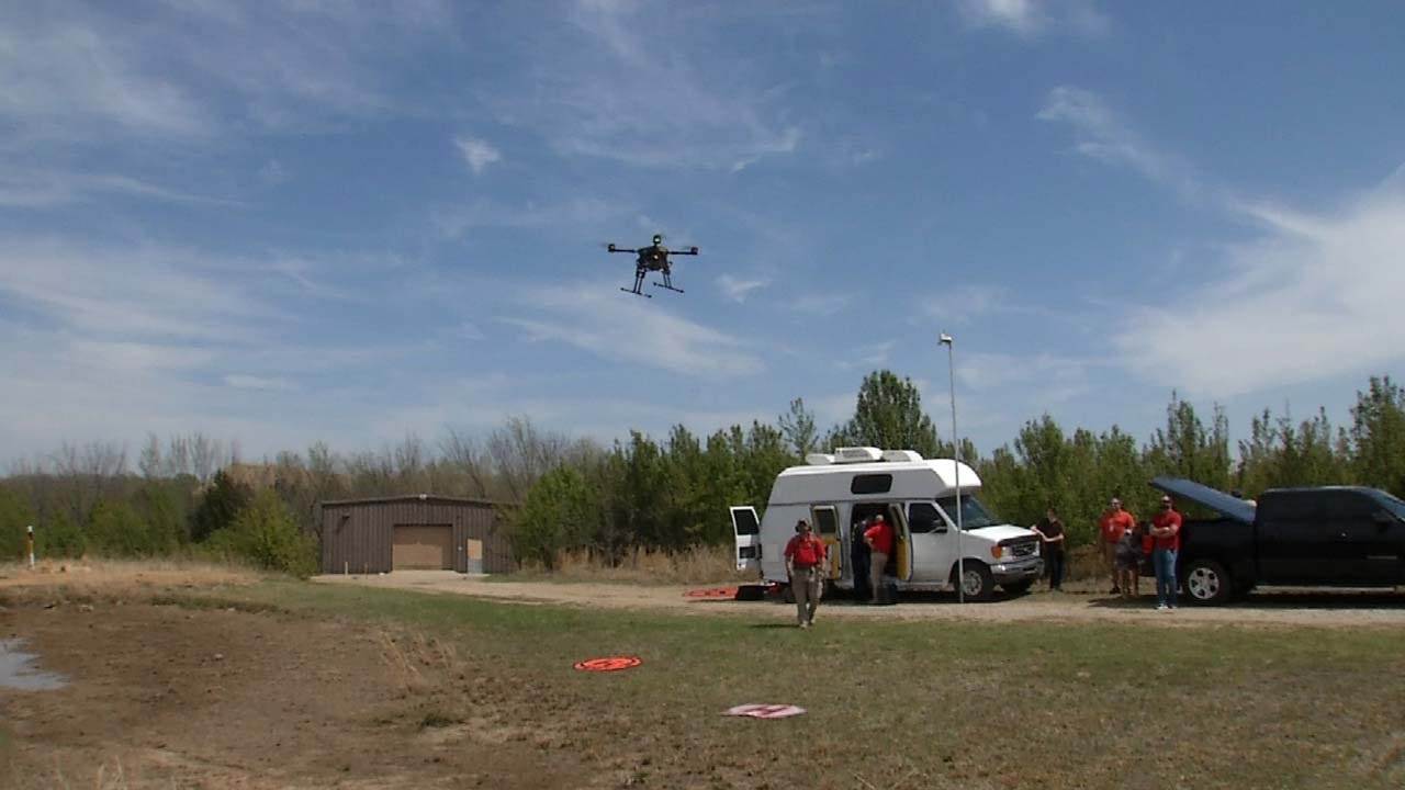 Osage Nation Letting Budding Drone Pilots Train At Former Airpark
