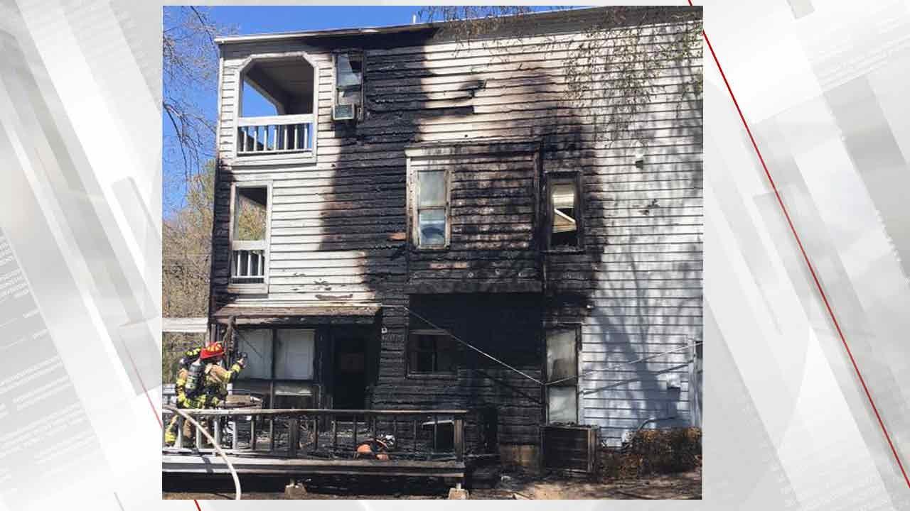 Apartment Fire in Broken Arrow