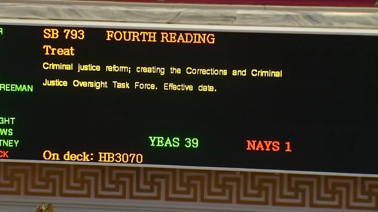 Criminal Justice Reform Bills Considered By State Legislature
