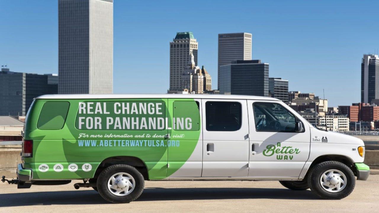 Tulsa Program Hopes To Help Panhandlers, Homeless