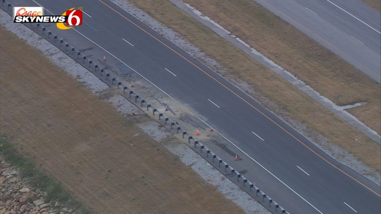 More Road Work On Crumbling Section Of Highway 51 Near Mannford