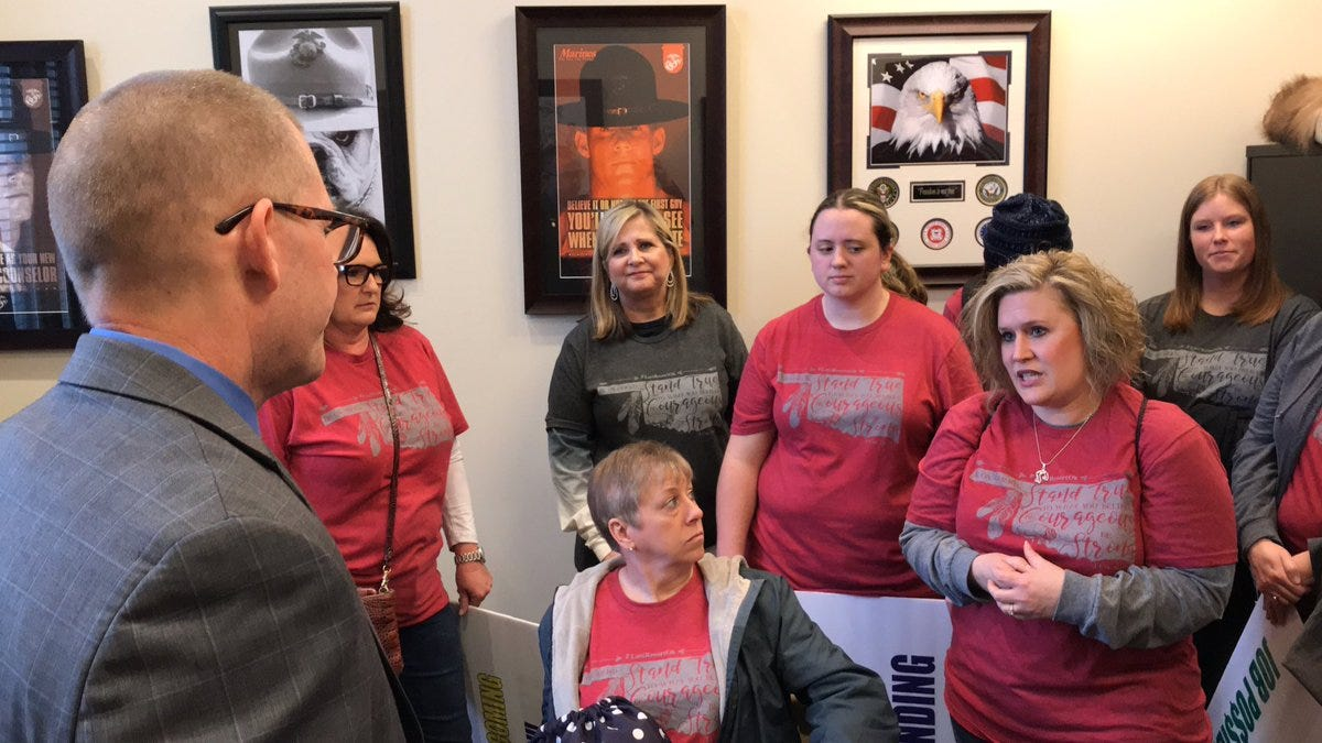 No Promises Made As Teachers Meet With Lawmakers