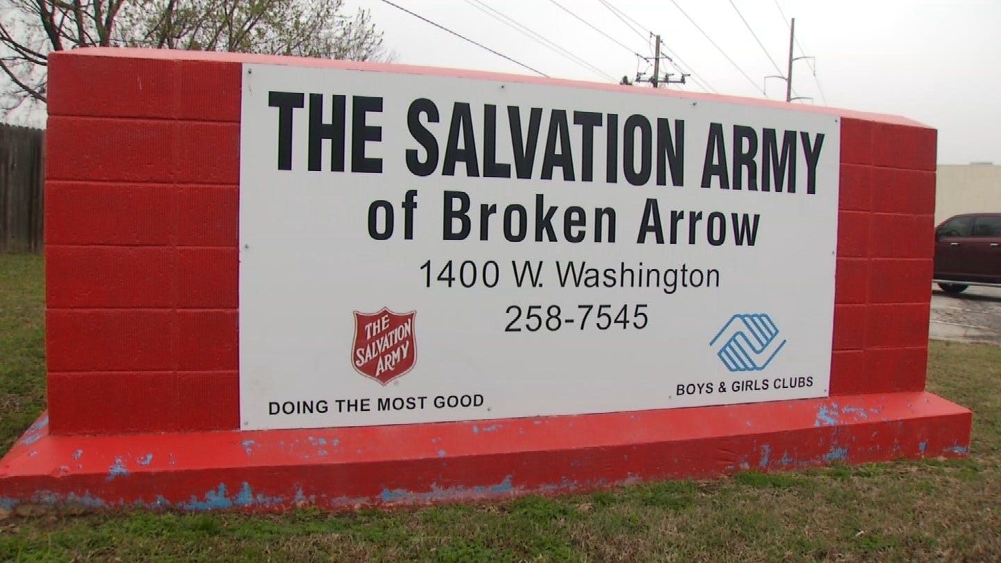Salvation Army Helping Children And Families During Walkout