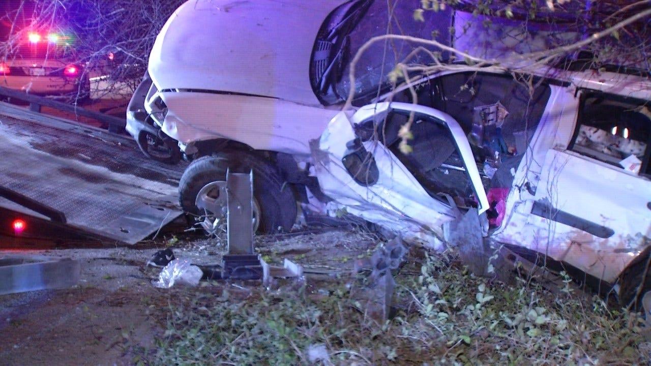 SUV Crash On Tulsa Highway Sends Driver To The Hospital