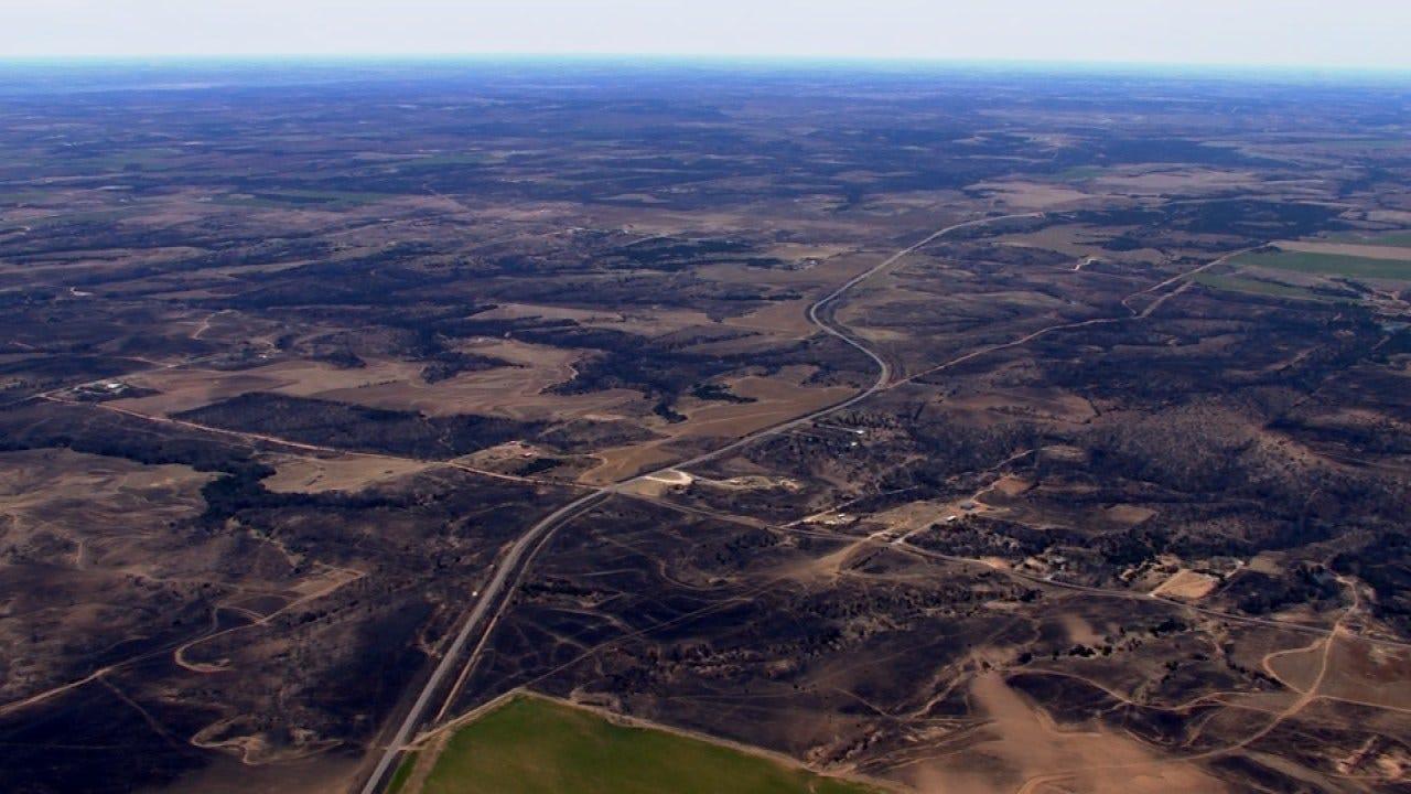 Western Oklahoma Wildfires Update