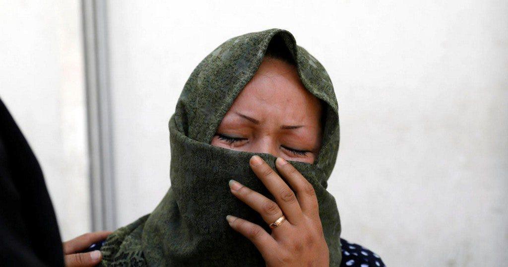Suicide bomber strikes voter registration center, kills 57 in Afghan capital