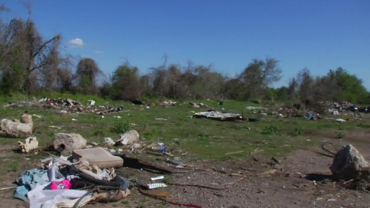 Wagoner County's New Deputy Working To Keep The Area Clean, Literally