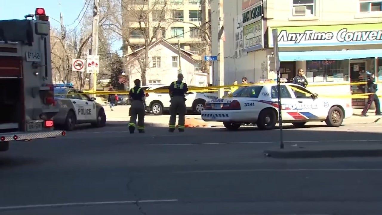 10 Dead After Van Strikes Crowd Of Toronto Pedestrians