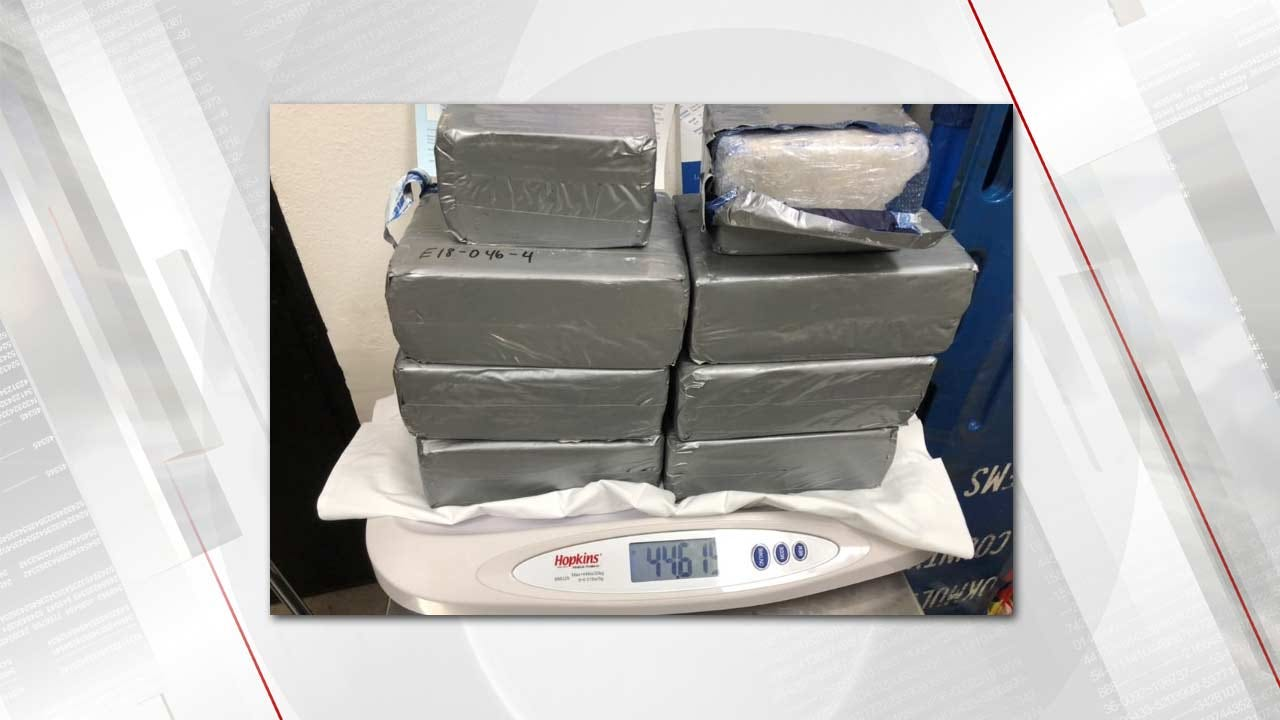 Henryetta Police Find 44 Pounds Of Meth During Traffic Stop