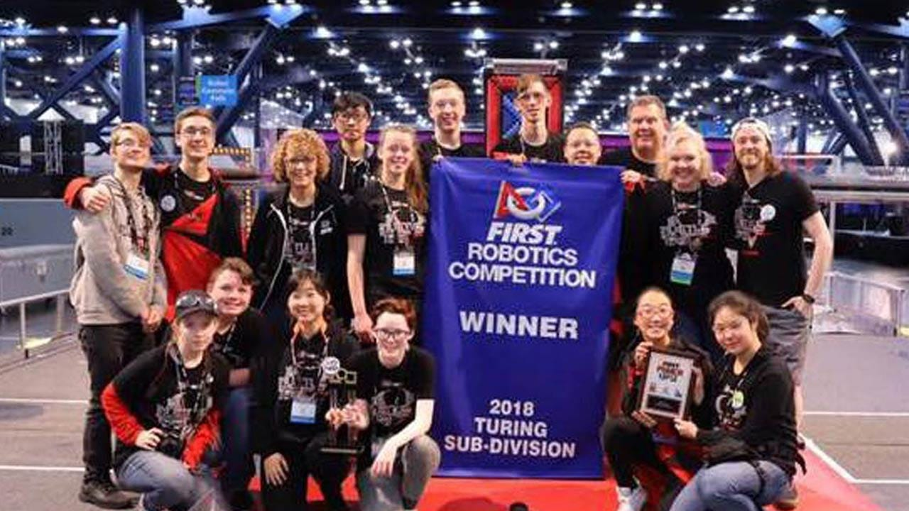 Two Tulsa Schools Win Awards At World Robotics Competition