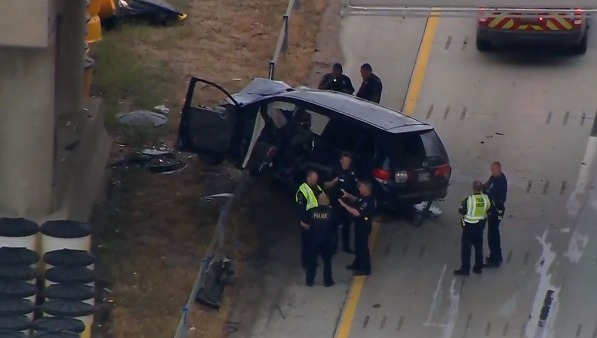 Body Ejected In Tulsa Funeral Transport Vehicle Crash